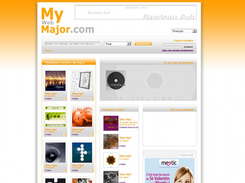 MyWebMajor Charte Graphique