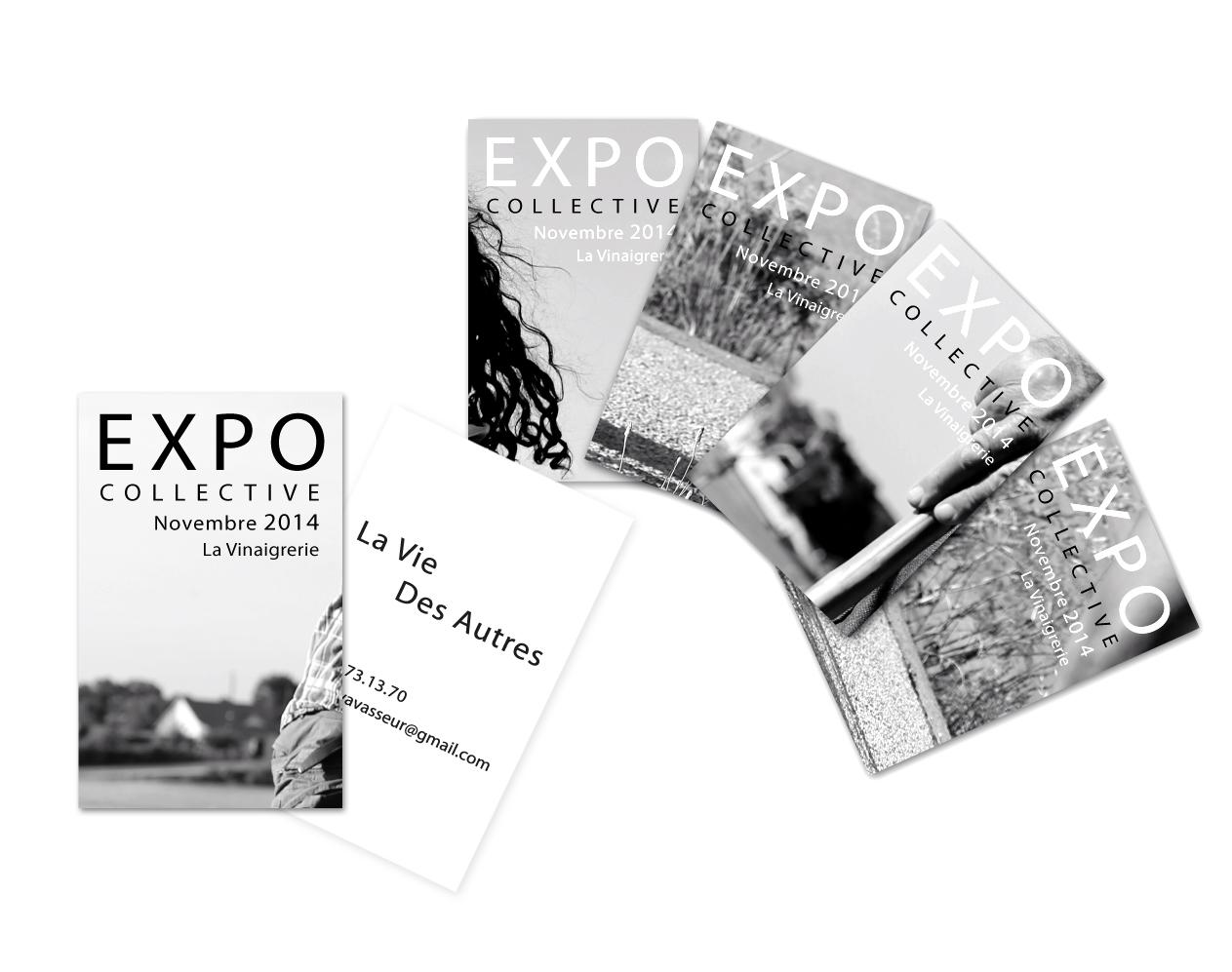 Cartes De Visite Exposition